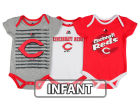 Cincinnati Reds Majestic MLB Infant Team Player 3-piece Set Infant Apparel
