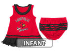 Louisville Cardinals Colosseum NCAA Infant Coda Ruffle Tank Dress Infant Apparel