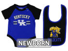 Kentucky Wildcats Colosseum NCAA Newborn Dribble Creeper and Bib S