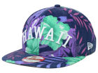 HAWAII Hawaii Floral Print 9FIFTY Snapback Cap Adjustable Hats