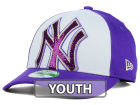 New York Yankees New Era MLB Kids Over Glittered 9FORTY Cap Adjustable Hats