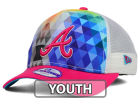 Atlanta Braves New Era MLB Youth Gem Trucker 9FORTY Cap Adjustable Hats