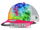 Chicago White Sox New Era MLB Youth Gem Trucker 9FORTY Cap Adjustable Hats