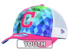 Cleveland Indians New Era MLB Youth Gem Trucker 9FORTY Cap Adjustable Hats