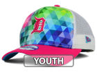 Detroit Tigers New Era MLB Youth Gem Trucker 9FORTY Cap Adjustable Hats
