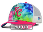 Kansas City Royals New Era MLB Youth Gem Trucker 9FORTY Cap Adjustable Hats