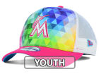 Miami Marlins New Era MLB Youth Gem Trucker 9FORTY Cap Adjustable Hats