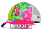 New York Mets New Era MLB Youth Gem Trucker 9FORTY Cap Adjustable Hats