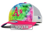 Oakland Athletics New Era MLB Youth Gem Trucker 9FORTY Cap Adjustable Hats