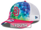 San Diego Padres New Era MLB Youth Gem Trucker 9FORTY Cap Adjustable Hats