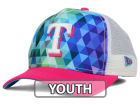 Texas Rangers New Era MLB Youth Gem Trucker 9FORTY Cap Adjustable Hats