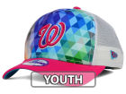 Washington Nationals New Era MLB Youth Gem Trucker 9FORTY Cap Adjustable Hats