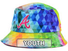 Atlanta Braves New Era MLB Kids Gem Bucket Hats
