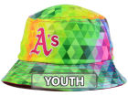Oakland Athletics New Era MLB Kids Gem Bucket Hats