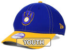 Milwaukee Brewers New Era MLB Junior Fundamental Diamond Era 9FORTY Cap Adjustable Hats