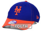New York Mets New Era MLB Junior Fundamental Diamond Era 9FORTY Cap Adjustable Hats