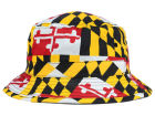 LIDS Private Label PL Maryland Flag Sublimated Reversible Bucket Hats
