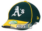 Oakland Athletics New Era MLB Junior Fan Wave Diamond Era 9FORTY Cap Adjustable Hats