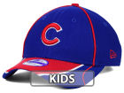 Chicago Cubs New Era MLB Junior Fan Wave Diamond Era 9FORTY Cap Adjustable Hats
