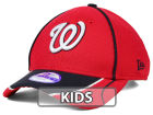 Washington Nationals New Era MLB Junior Fan Wave Diamond Era 9FORTY Cap Adjustable Hats