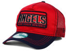 Los Angeles Angels of Anaheim New Era MLB Trip Trucker 9FORTY Cap Adjustable Hats