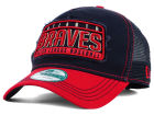 Atlanta Braves New Era MLB Trip Trucker 9FORTY Cap Adjustable Hats
