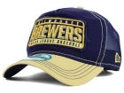 Milwaukee Brewers New Era MLB Trip Trucker 9FORTY Cap Adjustable Hats