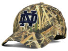 Notre Dame Fighting Irish Top of the World NCAA Blades Camo Flex Hat Stretch Fitted Hats