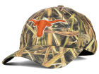 Texas Longhorns Top of the World NCAA Blades Camo Flex Hat Stretch Fitted Hats