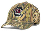 South Carolina Gamecocks Top of the World NCAA Blades Camo Flex Hat Stretch Fitted Hats