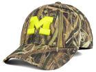 Michigan Wolverines Top of the World NCAA Blades Camo Flex Hat Stretch Fitted Hats