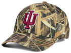 Indiana Hoosiers Top of the World NCAA Blades Camo Flex Hat Stretch Fitted Hats