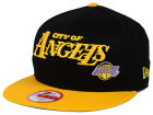 Los Angeles Lakers New Era NBA HWC Nickname 9FIFTY Snapback Cap Adjustable Hats