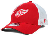 New Era NHL Double Mesh Flex 39THIRTY Cap Stretch Fitted Hats