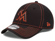 New Era MLB Black Team Neo 39THIRTY Cap Stretch Fitted Hats