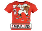 St. Louis Cardinals Majestic MLB Toddler Pint Sized Pitcher T-Shirt T-Shirts