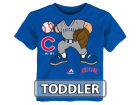 Chicago Cubs Majestic MLB Toddler Pint Sized Pitcher T-Shirt T-Shirts
