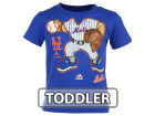 New York Mets Majestic MLB Toddler Pint Sized Pitcher T-Shirt T-Shirts