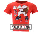 Boston Red Sox Majestic MLB Toddler Pint Sized Pitcher T-Shirt T-Shirts