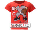 Cincinnati Reds Majestic MLB Toddler Pint Sized Pitcher T-Shirt T-Shirts