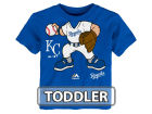 Kansas City Royals Majestic MLB Toddler Pint Sized Pitcher T-Shirt T-Shirts