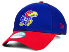 Kansas Jayhawks New Era NCAA Fundamental Tech 9FORTY Cap Adjustable Hats