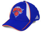 New York Knicks adidas NBA Trim Line Flex Cap Stretch Fitted Hats