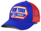 New York Rangers CCM Hockey NHL Patched Trucker Cap Adjustable Hats