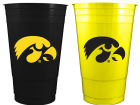 Iowa Hawkeyes 2pk Home and Away Plastic Cups Kitchen & Bar