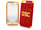 USC Trojans Forever Collectibles iphone 6 Plus Dual Hybrid Case Cellphone Accessories