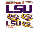 LSU Tigers Moveable 8x8 Decal Multipack Bumper Stickers & Decals