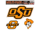 Oklahoma State Cowboys Moveable 8x8 Decal Multipack Bumper Stickers & Decals