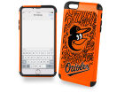 Baltimore Orioles Forever Collectibles iphone 6 Plus Dual Hybrid Case Cellphone Accessories