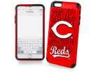 Cincinnati Reds Forever Collectibles iphone 6 Plus Dual Hybrid Case Cellphone Accessories